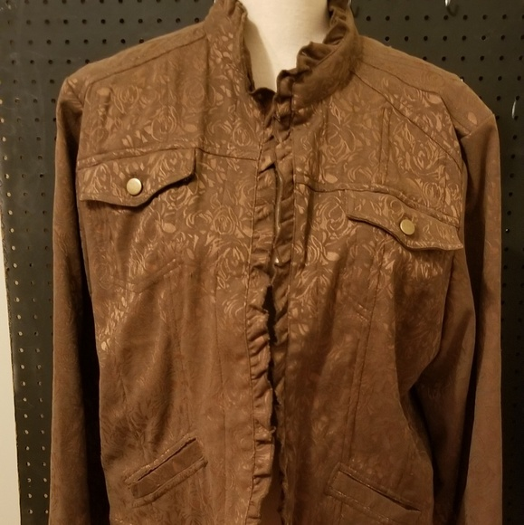 Coldwater Creek Jackets & Blazers - Brown Coldwater Creek Jacket Size PXL